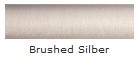 Brushed Silber