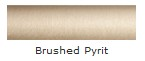 Brushed Pyrit